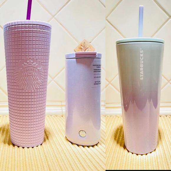 Sold Starbucks Lilac Tumbler Bundle